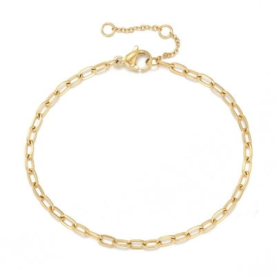 Armband Chain Link Schakels - Goud