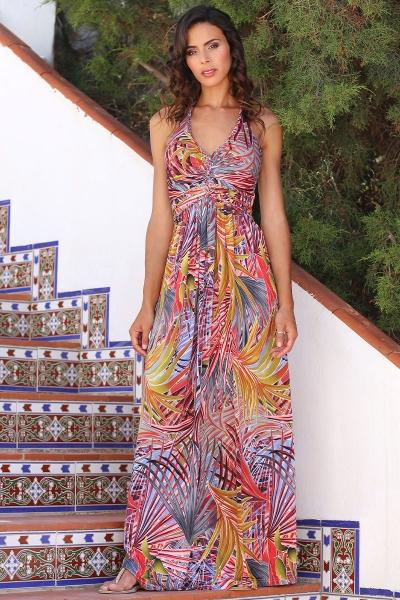 Halter jurk Avellana