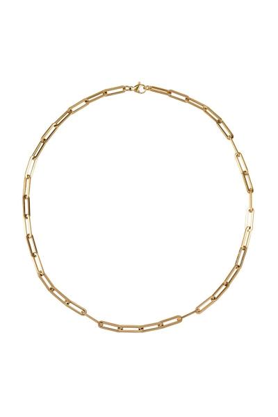 Ketting Chain Link Grove Schakels - Goud