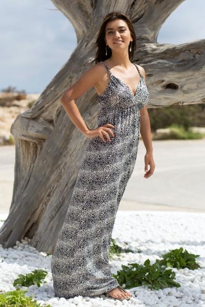 Maxi jurk Leopard