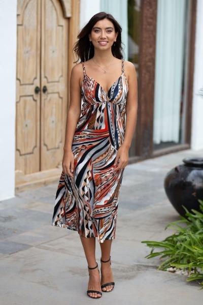 Midi jurk Artisan