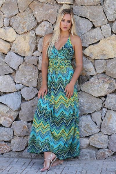 Halter jurk Nixi