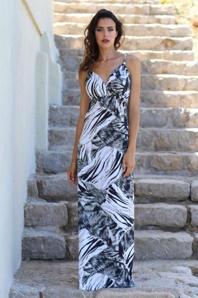 Maxi jurk Tize